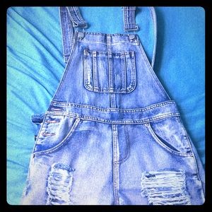 cute summer short overalls